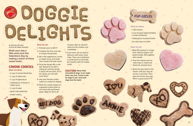 Doggie Delights Feb 2018