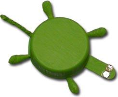 bottle cap turtle