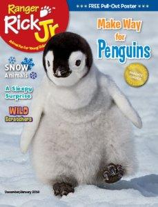 Ranger Rick Jr December January 2016 Cover