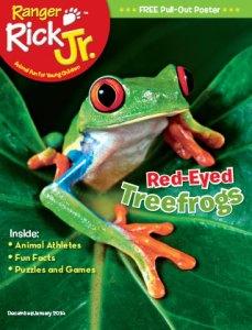 Ranger Rick Jr December January 2014 Cover