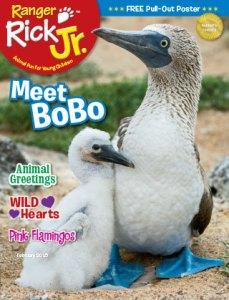 Ranger Rick Jr February 2015 Cover