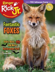 Ranger Rick Jr October 2015 Cover