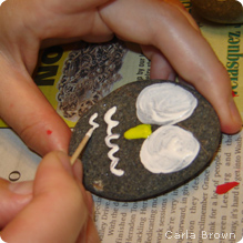 Painting rock