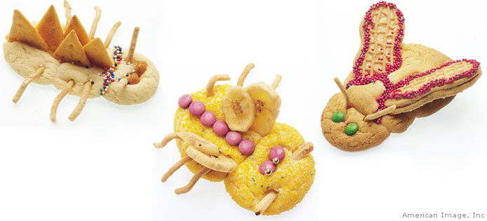 bug shaped cookies