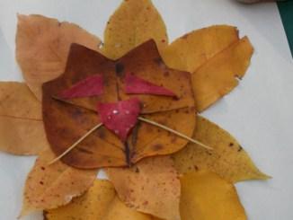 Lion leaf