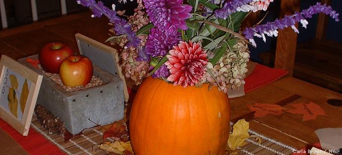 vase pumpkin
