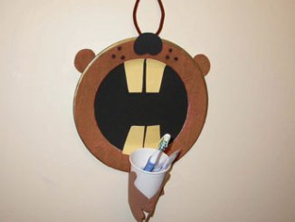 beaver toothbrush