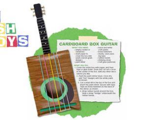 guitar trash toy