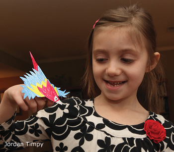 macaw puppet