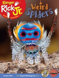 October 2021 Cover of Ranger Rick Jr.