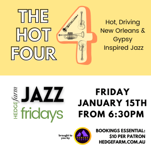 The Hot 4 at Jazz Fridays at Hedge Farm