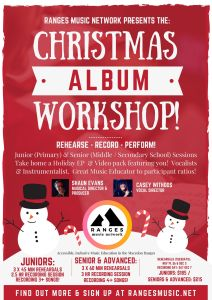 2019 Christmas Album Recording Workshop