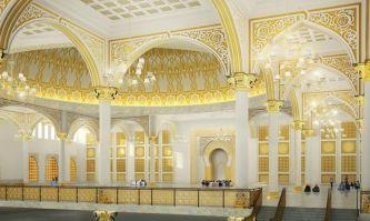 Mesjid Mujahidin tampak dalam, Pict by FB Yayasan Mujahidin Pontianak