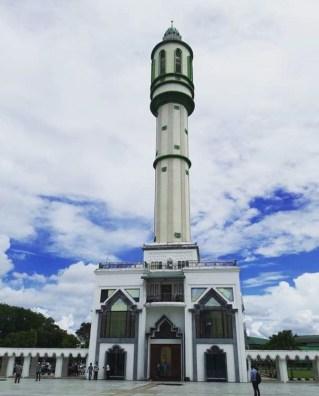 Menara Mesjid Mujahidin, Pict by me