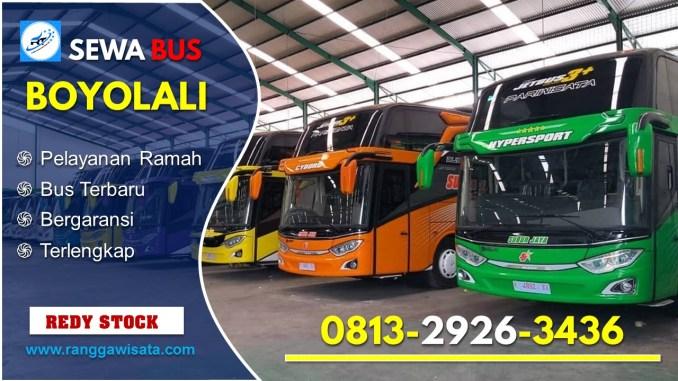 Daftar Harga Sewa Bus Pariwisata Boyolali