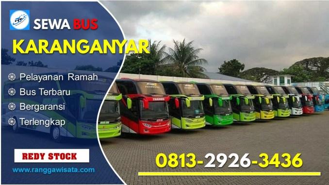 Daftar Harga Sewa Bus Pariwisata Karanganyar