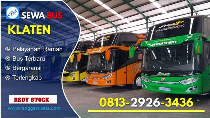 Daftar Harga Sewa Bus Pariwisata Klaten