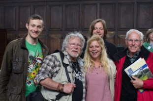 Me and Essex ARG with Bill Oddie. Photo by Neil Phillips