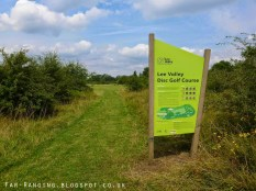 Lee Valley's new Disc Golf Course.