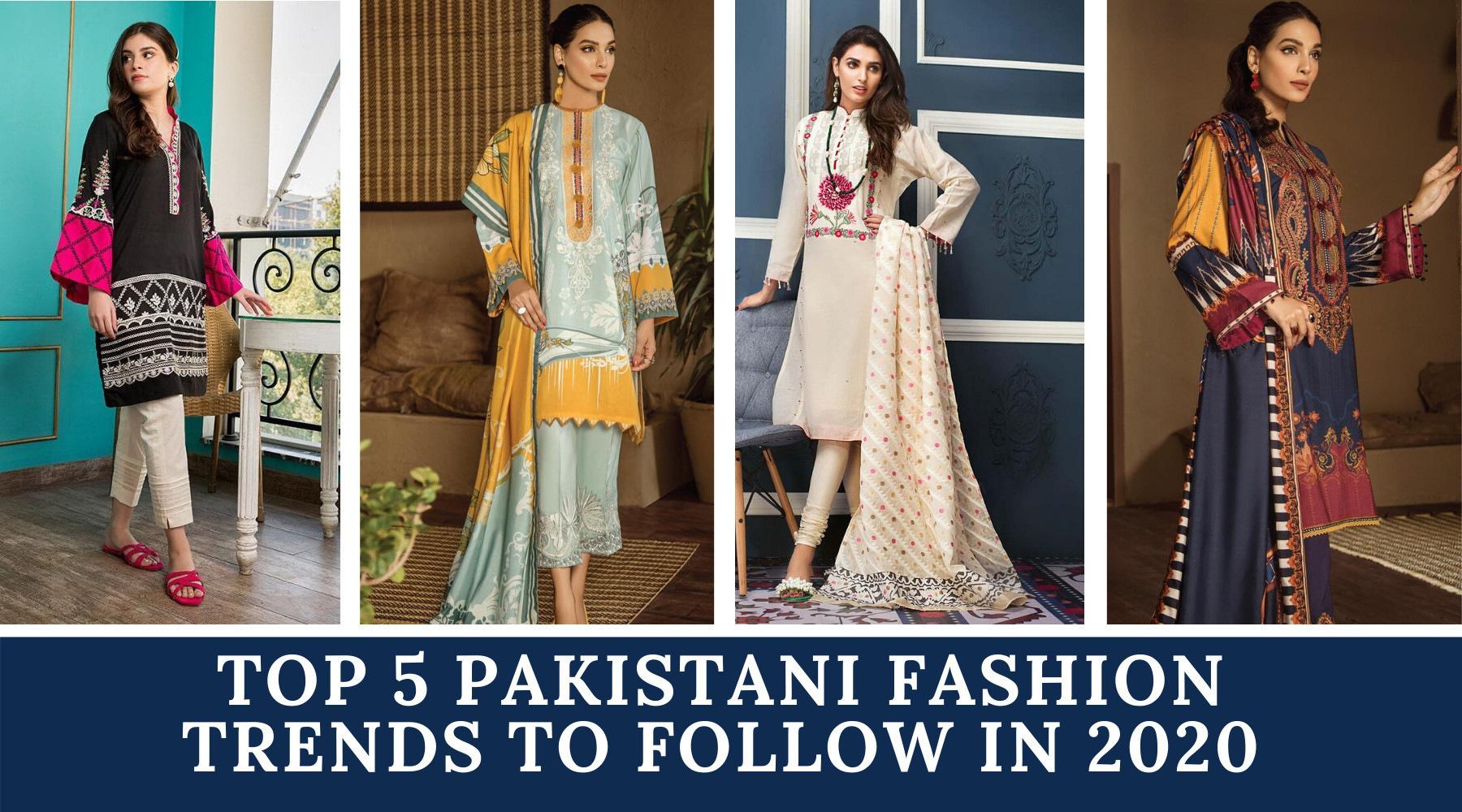 2020 dress trends casual pakistani