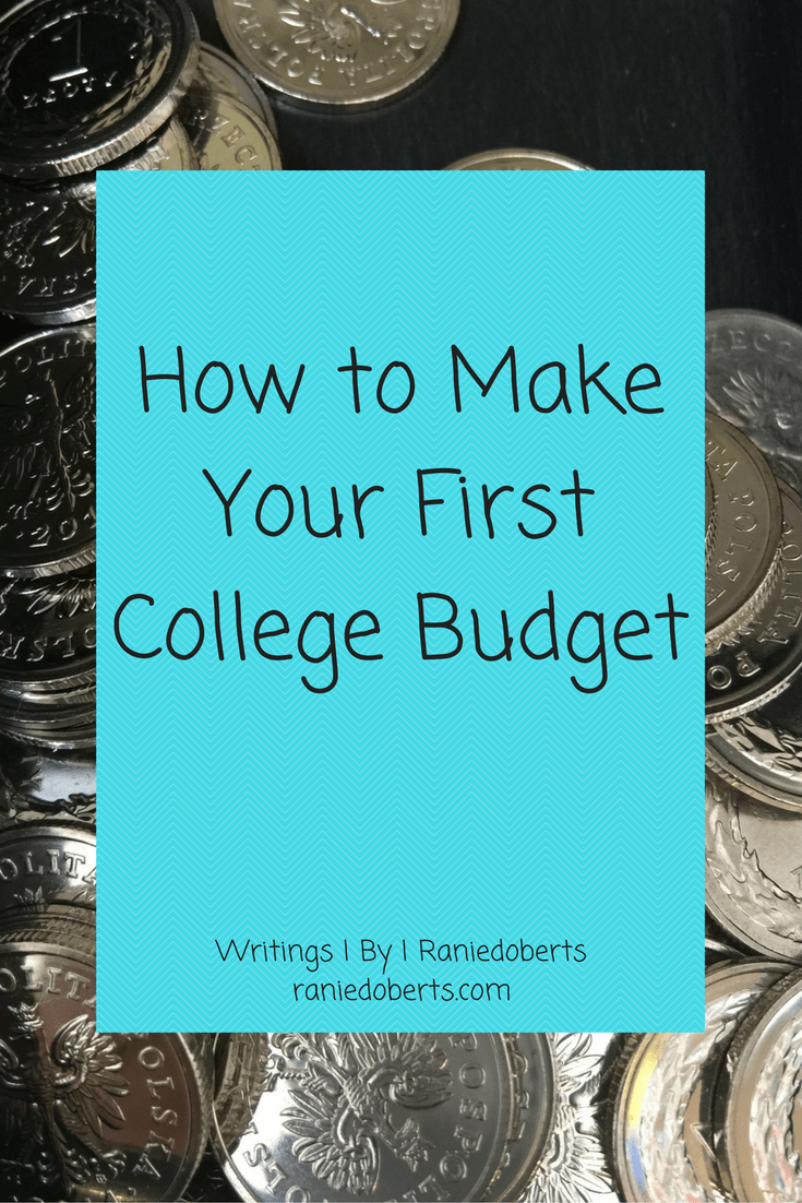 How to Make Your First College Budget