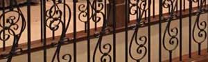 Living Area Remodels - Iron Railing