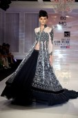 Design by Manav Gangwani; this is such a sophisticated sillouhette.