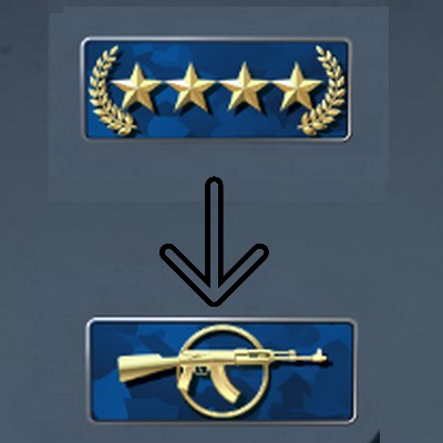 Boost Gold Nova MASTER Master GUARDIAN 1 RANK BOOST FR