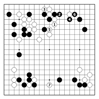 Fig. 1, White has a promising game.