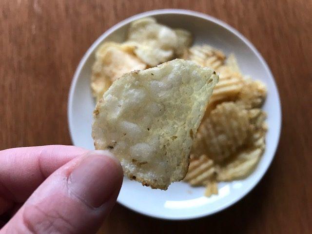 コストコのケトルチップ シーソルト&ビネガー
