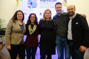 The RDR team at RightsCon