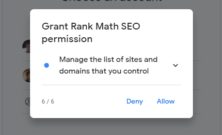 Rank Math Permission Six
