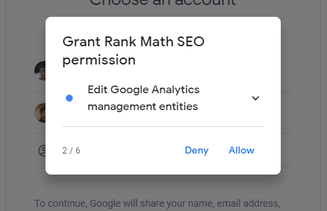 Rank Math Permission Two