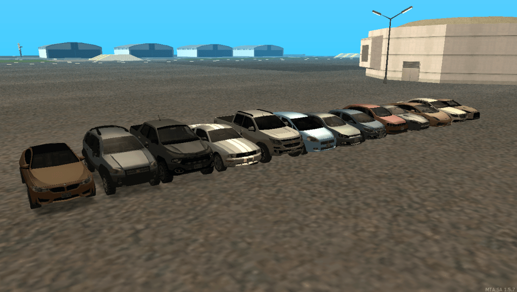 carros lowpoly