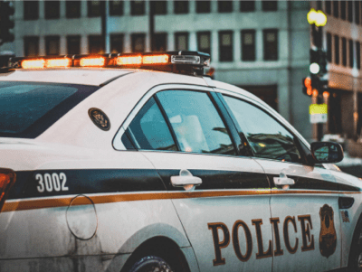Police car leveraging FR technology