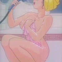 "And another one sexy girl from ""Ranma"" likes taking a shower when someone is watching"