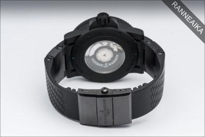 ULYSSE NARDIN Maxi Marine Diver Black Seal LTD ref. 263-92/923-RG