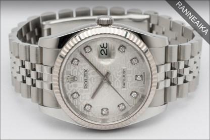 ROLEX Datejust 36 Computer Dial Diamonds ref. 116234