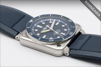 BELL & ROSS BR 03-92 Diver Blue ref. BR0392-D-BU-ST/SRB