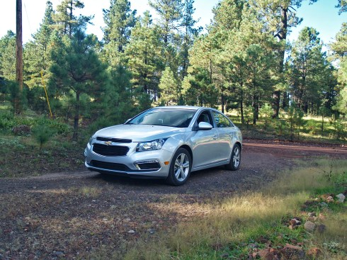 Hawley Lake and a new Chevy Cruze!