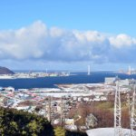 御崎変電所付近から見た風景