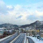 ぼこい歩道橋からの眺め 2015