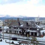 冬の旧室蘭駅