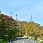 測量山近辺の秋風景