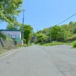 室蘭幼稚園前の坂道