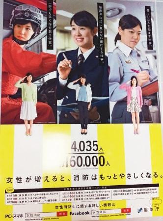 消防署のポスター
