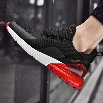 Summer New Men Sneakers Air Cushion Lightweight Breathable Men Trainers Fashion Shoes Woman Couple Sport Shoes Mens Shoes Casual 1