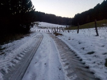 Keiharde sneeuw