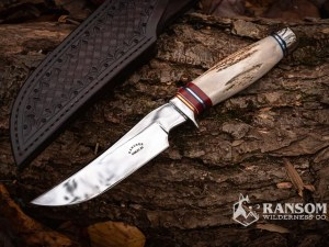Russell Gardner Hunting Knife at Ransom Wilderness Co