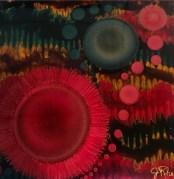Painting by Jeanne Rhea